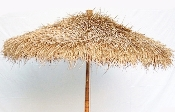 bamboo sea grass thatch umbrella product image
