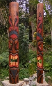 5 Foot Tahitian Tiki Mask