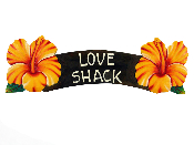 love shack hibiscus sign product image