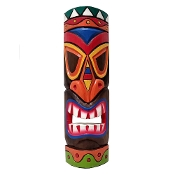 20 inch Colorful Hawaiian tiki mask product image